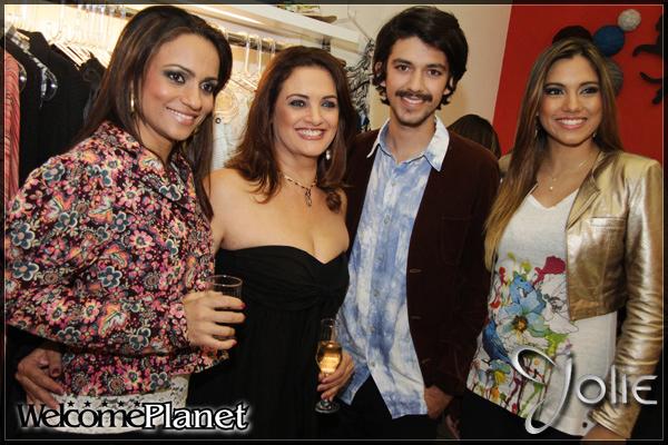 Josiany, Jacy Ferreira, Thaylan Zanon e Leticia Scheletz